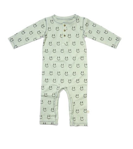 OMAN Jumpsuit Forest Green - HAPPY little FACE