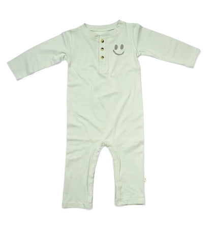 OMAN Jumpsuit Dusty Green - HAPPY little FACE