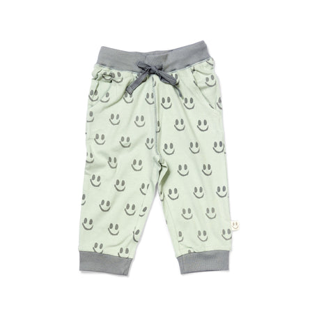 PERU Pants Forest Green - HAPPY little FACE