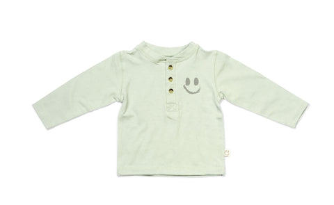 TIBET Top Dusty Green - HAPPY little FACE