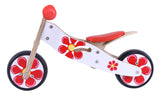 Kidzmotion 'Petal' Mini Wooden Balance Bike