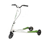 Kidzmotion Shway 3 wheel swing scooter speeder drifter white frame (14+ years)XL