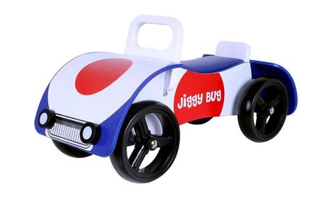 Kidzmotion 'Jiggy Bug' Wooden sit on / ride on car