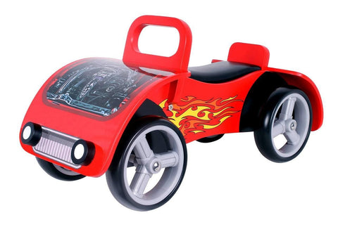 Kidzmotion 'Fire Bug' Wooden sit on / ride on car