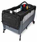 Kidzmotion Portable Baby Child Travel Cot Bed Bassinet Play Pen Playpen (black)
