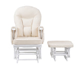 Serenity in White Glider Maternity Chair