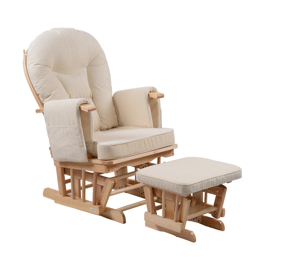 Serenity In Natural Glider Maternity Chair Kidzmotion