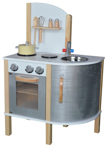 Kidzmotion La Cuisine Junior Wooden Pretend Play Kitchen Unisex
