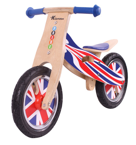 Kidzmotion 'Pride' Wooden Balance Bike / first bike / running bike