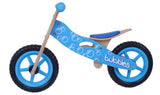 Kidzmotion 'Bubbles' Wooden Balance Bike / first bike / running bike with wooden stand