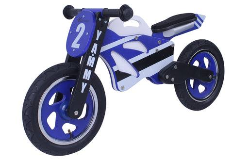 Kidzmotion 'Yammy' Wooden Motorbike Balance Bike