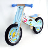 Kidzmotion 'Buck' Wooden Balance Bike / first bike / running bike