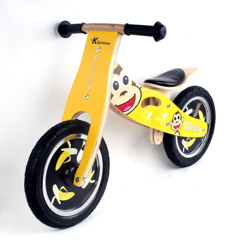 Kidzmotion 'Cheeky' Wooden Balance Bike / first bike / running bike
