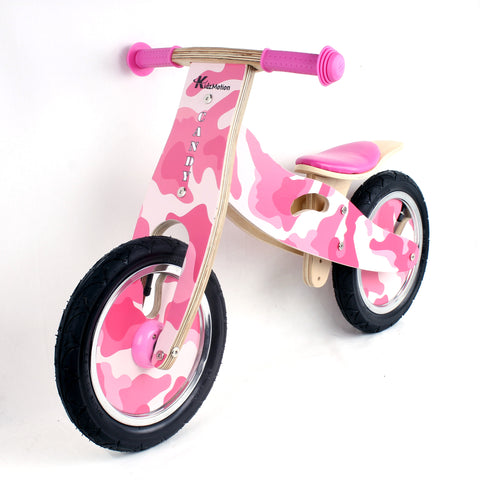 Kidzmotion 'Candy' Wooden Balance Bike / first bike / running bike