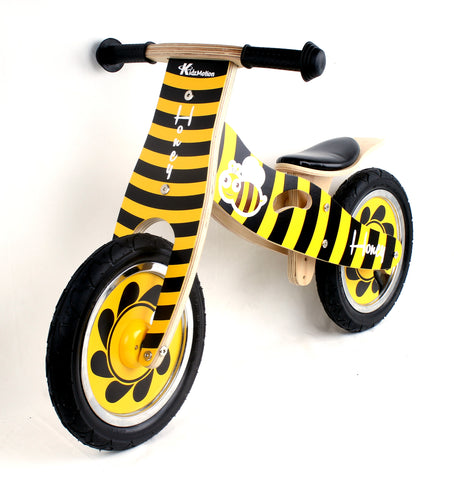 Kidzmotion 'Honey' Wooden Balance Bike / first bike / running bike
