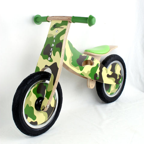 Kidzmotion 'Cadet' Wooden Balance Bike / first bike / running bike