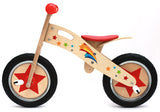 Kidzmotion 'Pootle' Wooden Balance Bike with stand