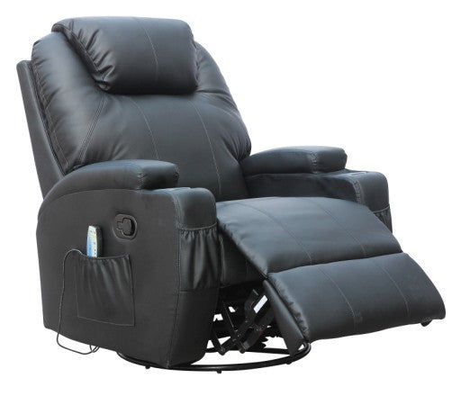 Kidzmotion Black Leather Recliner Gaming Chair Manual