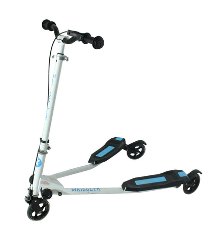 Kidzmotion Wriggler 3 wheel swing scooter speeder drifter (age 5+) blue