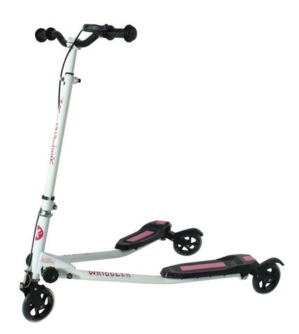 Kidzmotion Wriggler 3 wheel swing scooter speeder drifter (age 5+) pink