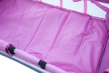 Kidzmotion Portable Baby Child Travel Cot Bed Bassinet Play Pen Playpen (pink)