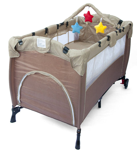 Kidzmotion Portable Baby Child Travel Cot Bed Bassinet