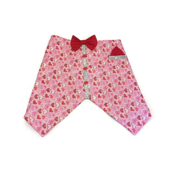 Sweet On You Bow Tie Vest