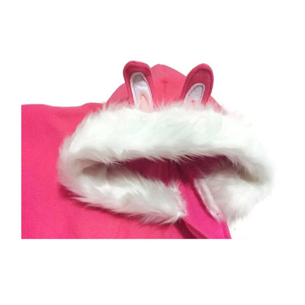 Snow Bunny Hooded Fleece Jacket - Snort Life  - 3