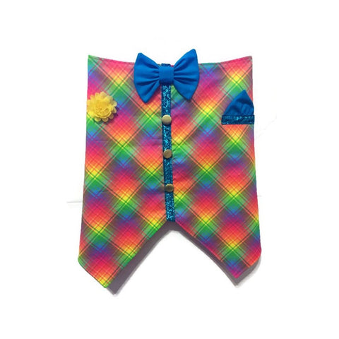 Life Of The Party Bow Tie Vest