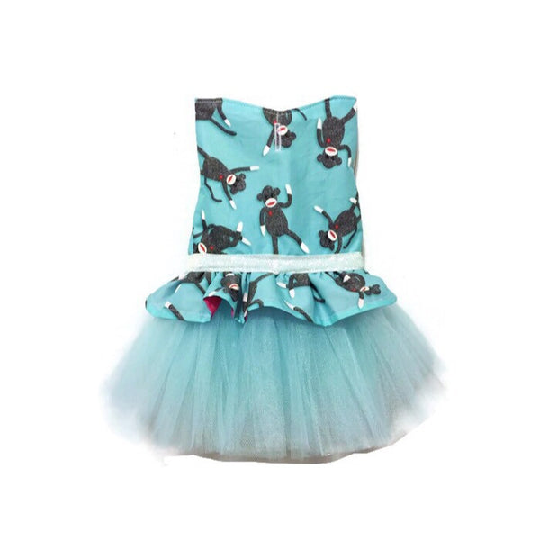 Sock Monkey Tutu Dress