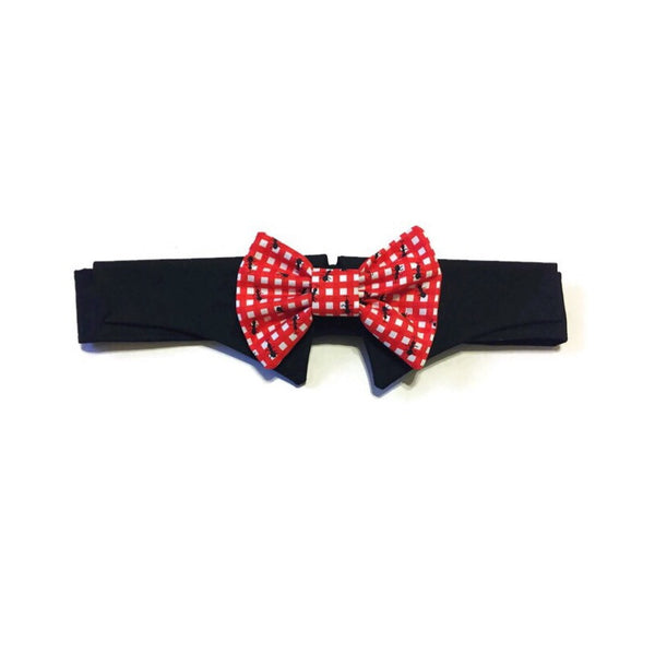 Party Crashers Shirt Collar Bow Tie Set
