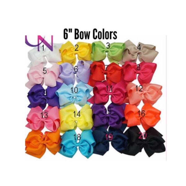 Interchangeable Bow T-Shirt--Multiple T-Shirt Colors