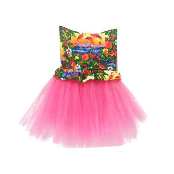 Hawaiian Tutu Dress--12 Fabric Options