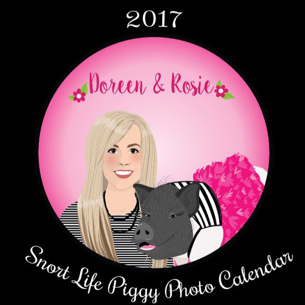 2017 Snort Life Piggy Photo Contest Calendar - Snort Life  - 1