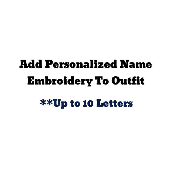 Personalized Embroidered Name--Up to 10 Letters - Snort Life  - 1