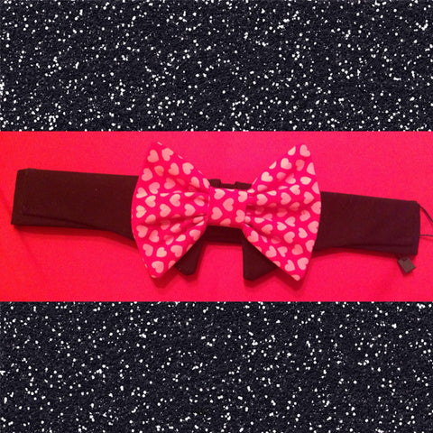 Valentine's Day Bow Ties (only bow tie) - Snort Life, Mini Pig Clothes