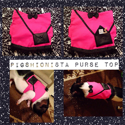 Pigshionista Purse Top - Snort Life  - 1