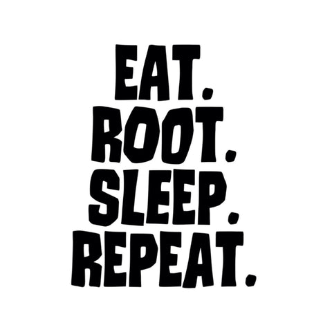 Eat. Root. Sleep. Repeat. T-Shirt - Snort Life, Mini Pig Clothes