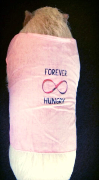 Forever Hungry T-Shirt - Snort Life, Mini Pig Clothes