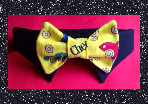 Cheerios Bow Tie Collar Set - Snort Life, Mini Pig Clothes