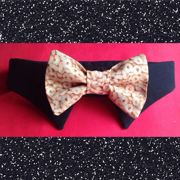 CHEERIOS EVERYWHERE Bow Tie Collar Set - Snort Life, Mini Pig Clothes