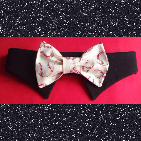 Play Ball Bow Tie Collar Set - Snort Life, Mini Pig Clothes