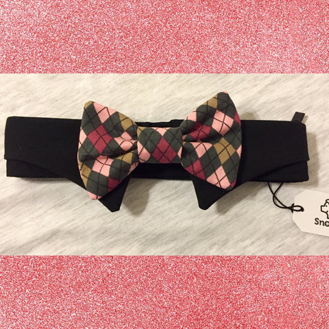 Derby Doo Bow Tie Collar Set - Snort Life, Mini Pig Clothes