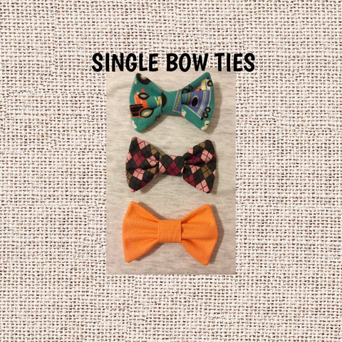 Universal Bow Ties - Snort Life, Mini Pig Clothes
