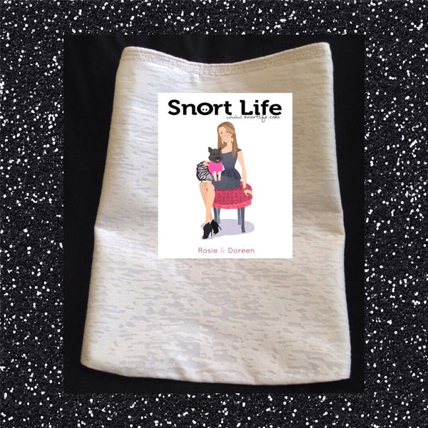 Rosie & Doreen T-Shirt - Snort Life, Mini Pig Clothes