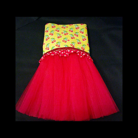 With A Cherry On Top Tutu Dress - Snort Life  - 1