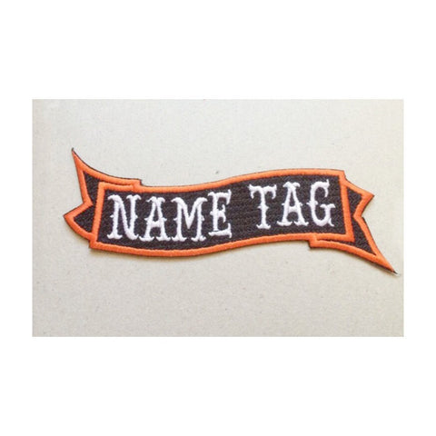 Motorcycle Jacket Name Patch - Snort Life, Mini Pig Clothes