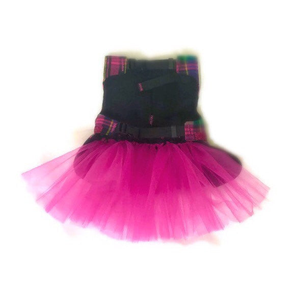 Plaid Pizzazz Tutu Dress - Snort Life  - 3