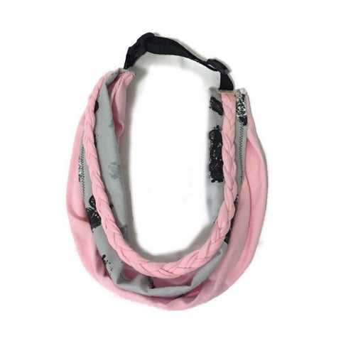 Pink Lady T-Shirt Scarf - Snort Life, Mini Pig Clothes