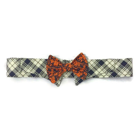 Charleston Shirt Collar Bow Tie Set - Snort Life, Mini Pig Clothes